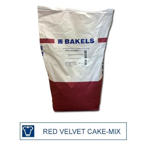 Afbeelding van Bakels Red Velvet Cake mix 15 kg