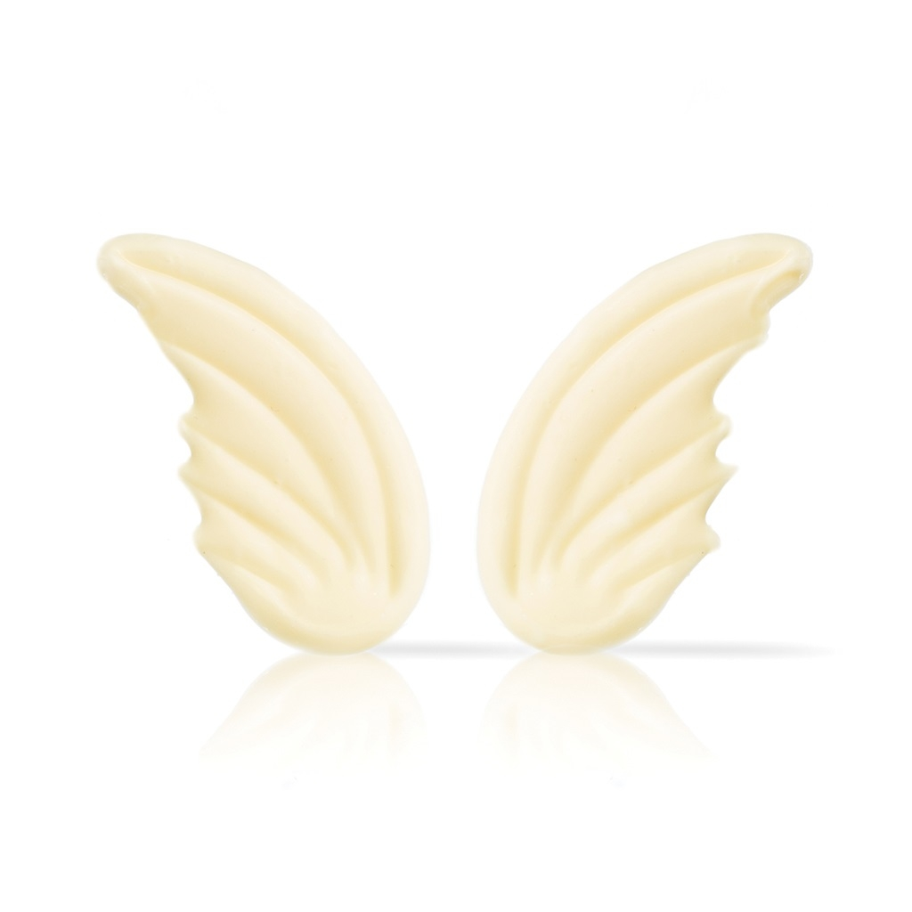 Afbeelding van Dobla Chocoladedecoratie Engelenvleugels (72 stuks)
