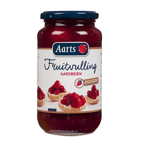 Afbeelding van Aarts Fruitvulling Aardbeien 580ml
