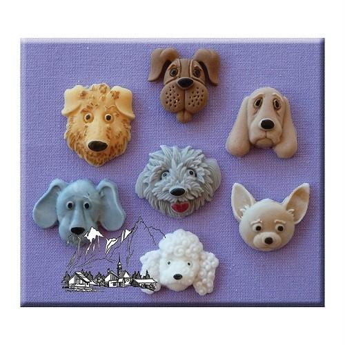 Afbeelding van AM Mold Hondenkoppen