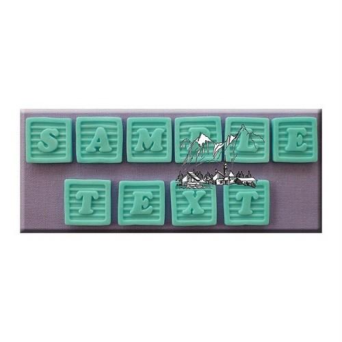 Afbeelding van AM Mold Letters Babyblokken