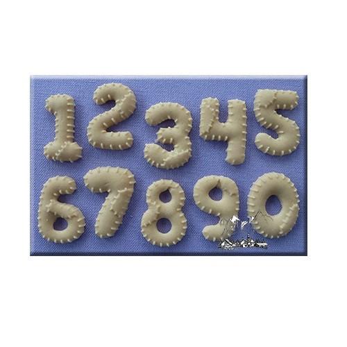 Afbeelding van AM Mold Cijfers patchwork