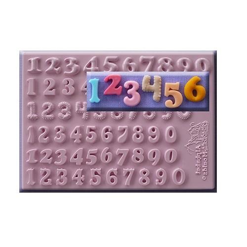 Afbeelding van AM Mold Cijfers 6 types