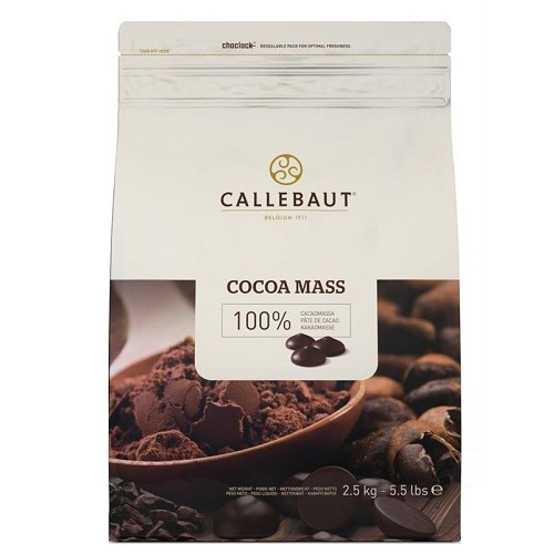 Afbeelding van Callebaut Cacaomassa Callets 2,5 kg