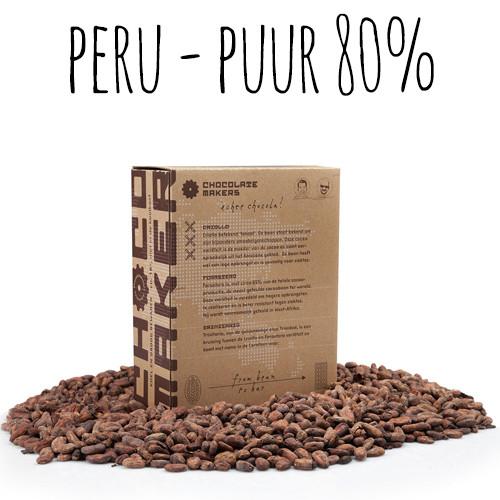 Afbeelding van ChocolateMakers Biologische Couverture Awajun Puur 80% 2kg