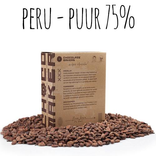 Afbeelding van ChocolateMakers Biologische Couverture Chuluca. Puur 75% 2kg