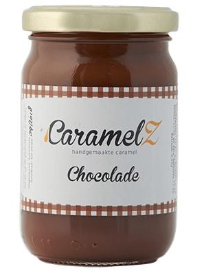 Afbeelding van Caramel Chocolade 110 gram