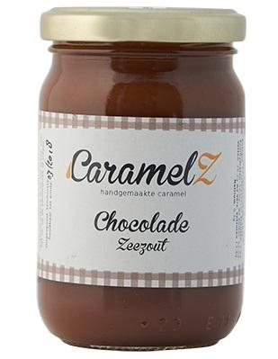 Afbeelding van Caramel Chocolade Zeezout 110 gram