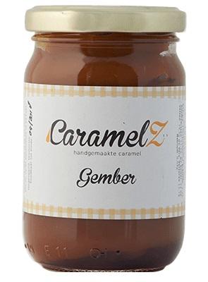 Afbeelding van Caramel Gember 110 gram