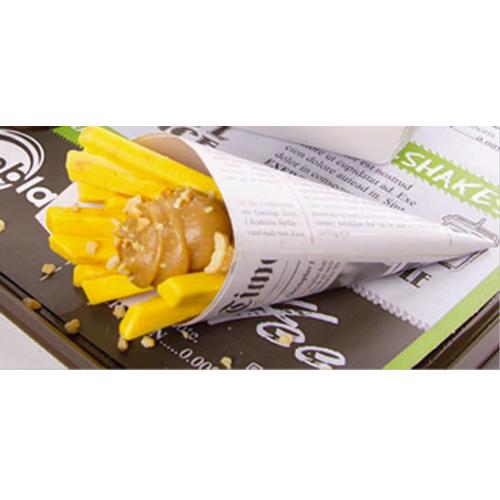 Afbeelding van Dobla Chocoladedecoratie Chocoladefriet 1,5 kg