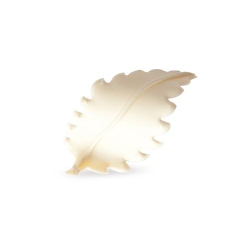 Afbeelding van Dobla Chocolade Blaadje Wit 3D (96 stuks)