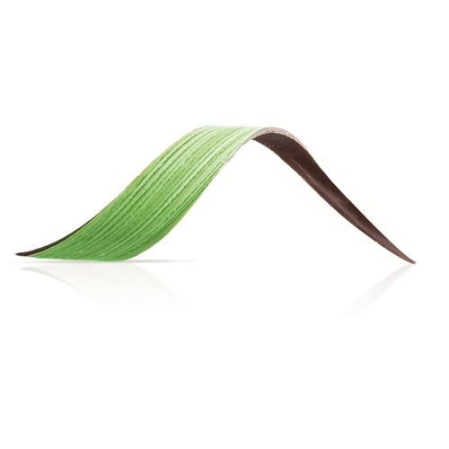 Afbeelding van Dobla Chocoladedecoratie blad groen (80 stuks)