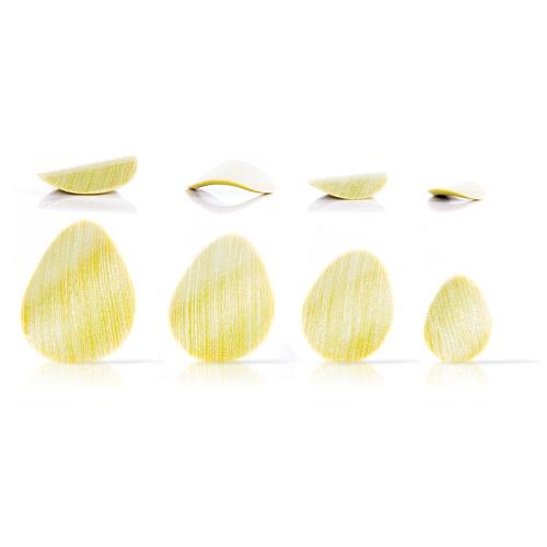 Afbeelding van Dobla Chocoladedecoratie Curvy Spots Groen (288 stuks)