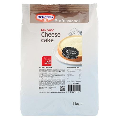 Afbeelding van Dr.Oetker Prof. Cheesecake mix 1kg