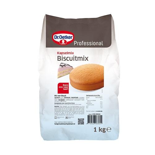 Afbeelding van Dr.Oetker Prof. Biscuit mix 1kg