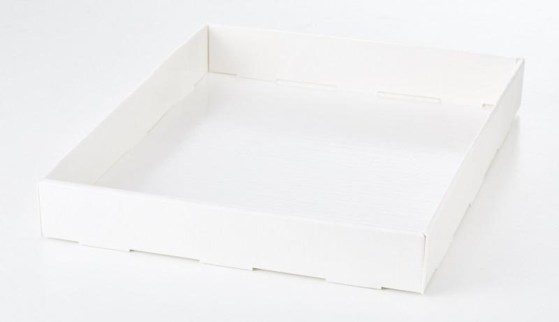 Afbeelding van Dr.Oetker Prof. Bakvorm Plaatcake Wit 35,5x28,5x4,5cm 20st.