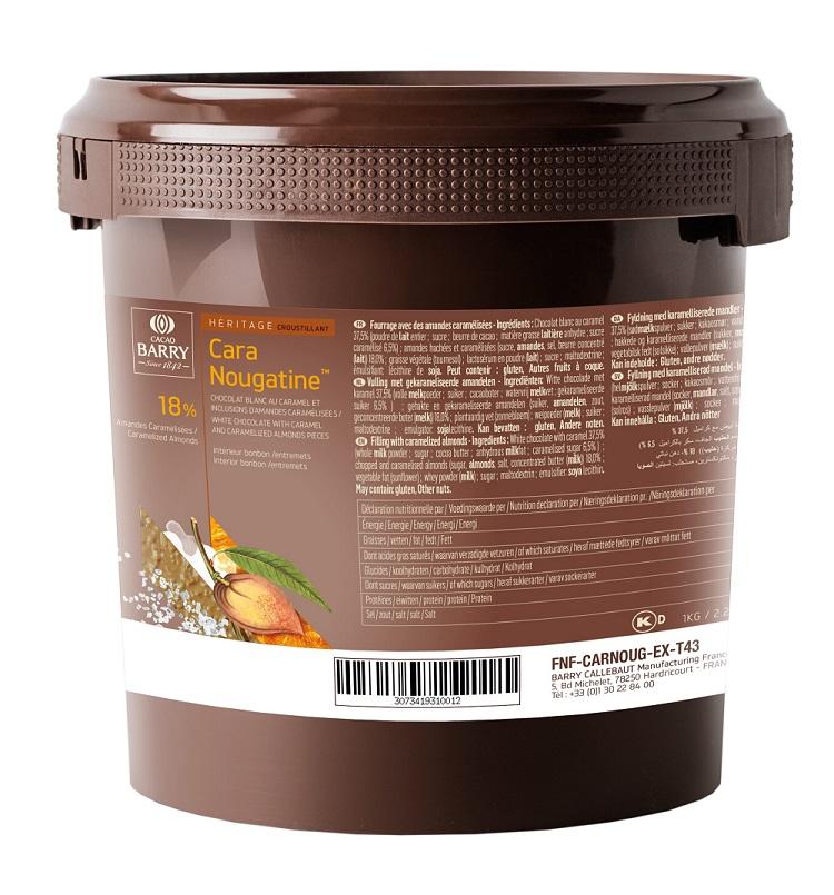 Afbeelding van Callebaut Cara Nougatine krokante vulling 1kg