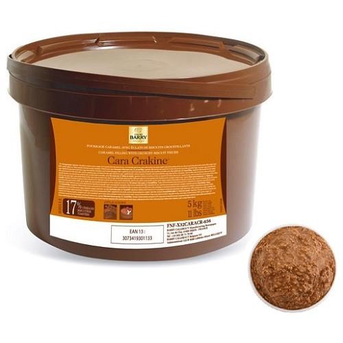 Afbeelding van Callebaut Cara Crakine krokante vulling (koekjescrunch) 5kg