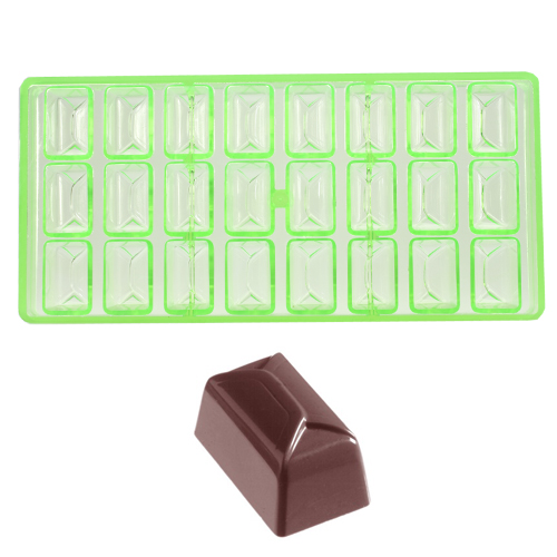 Afbeelding van Bonbonvorm Chocolate World GL Ballotin (24x) 36x22x20mm