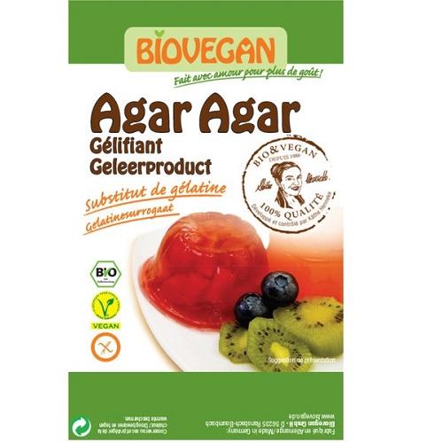 Afbeelding van agar Biologisch 30 gram