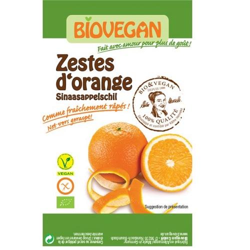 Afbeelding van Sinaasappelschillen Geraspt Biologisch 9 gram