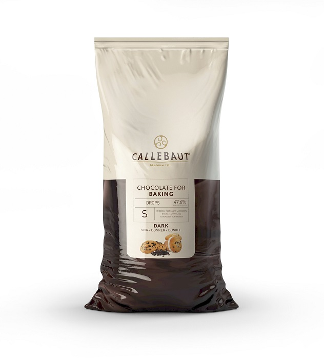 Afbeelding van Callebaut Bakvaste Chocolade Druppels Klein Puur 10kg