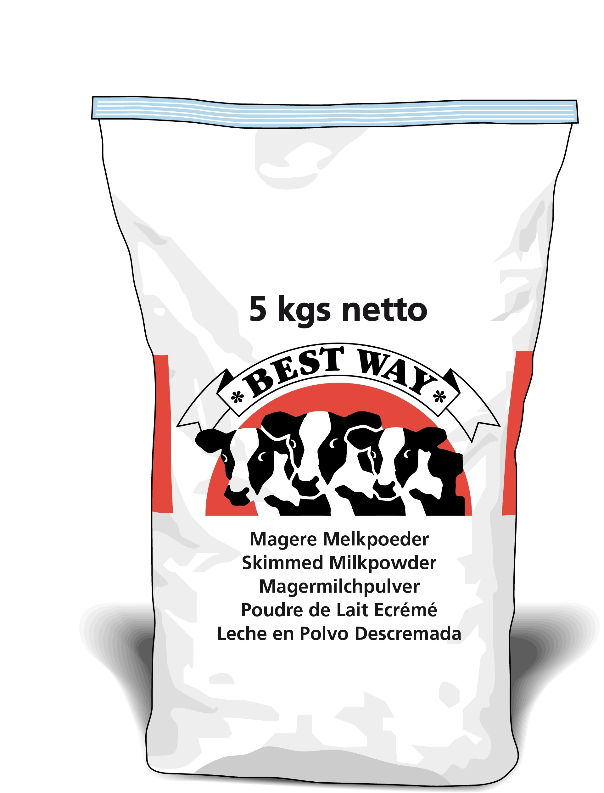 Afbeelding van Magere Melkpoeder 5kg