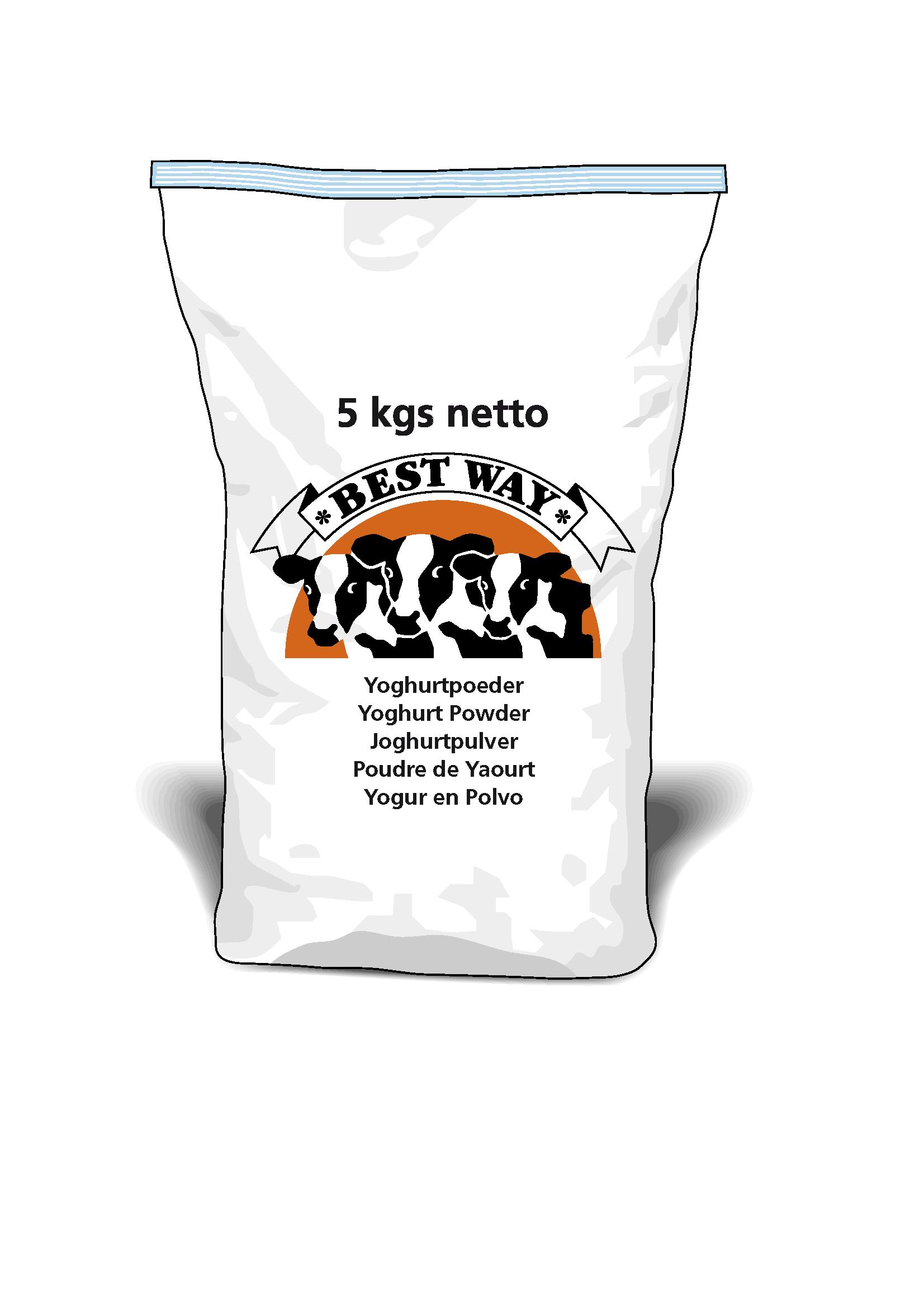 Afbeelding van Yoghurtpoeder 5kg THT 26 03 19