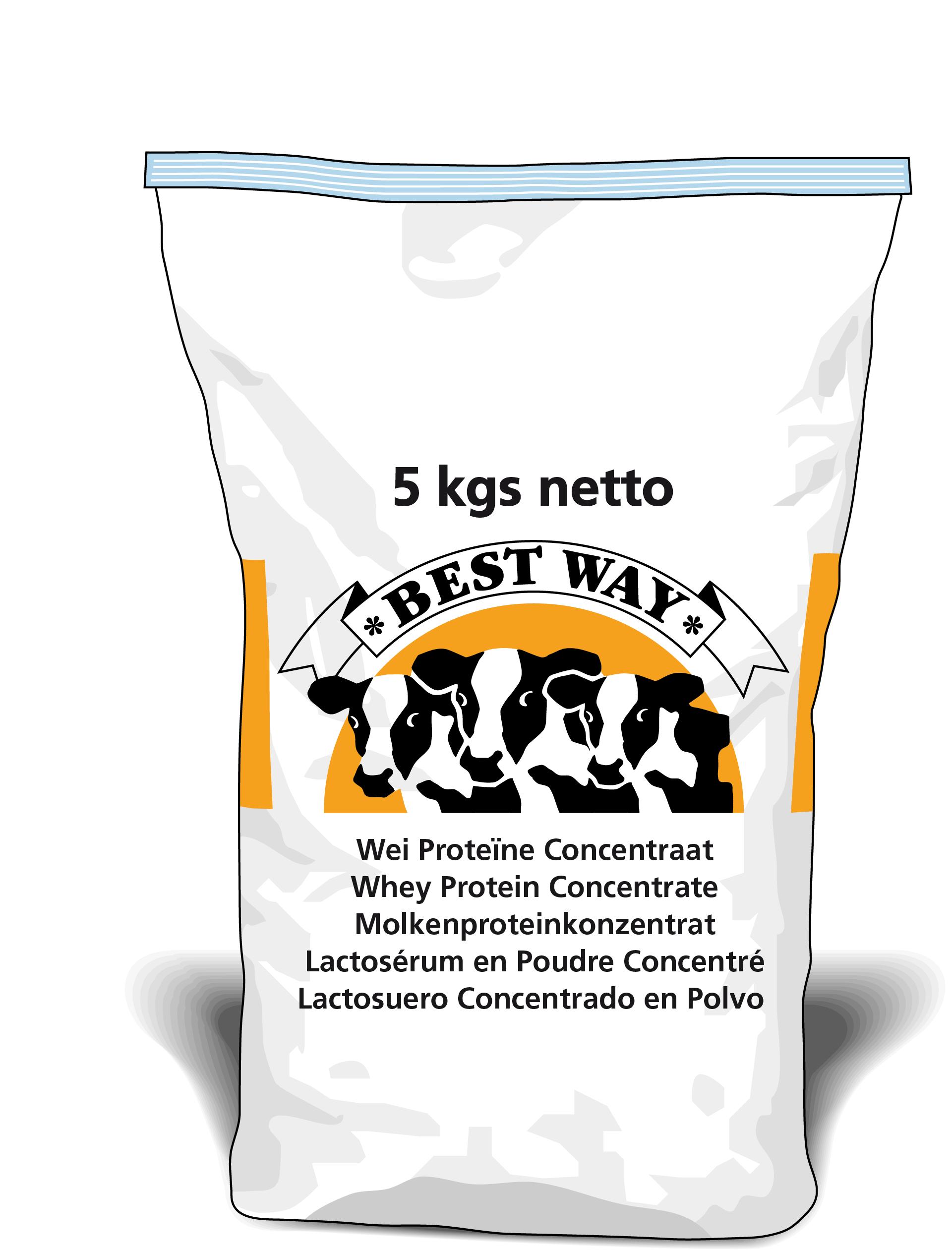 Afbeelding van Weiproteïne Concentraat 5kg