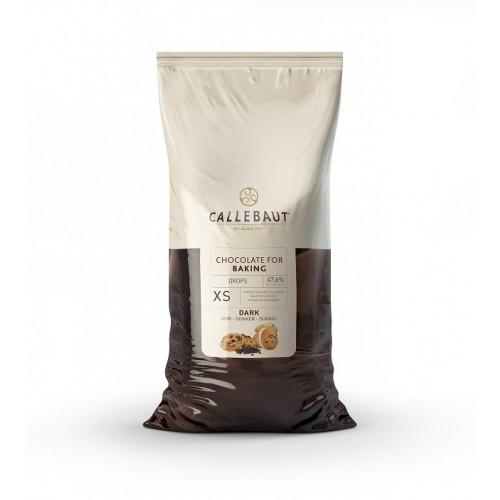 Afbeelding van Callebaut Bakvaste Chocolade Druppels Extra Klein Puur 10kg