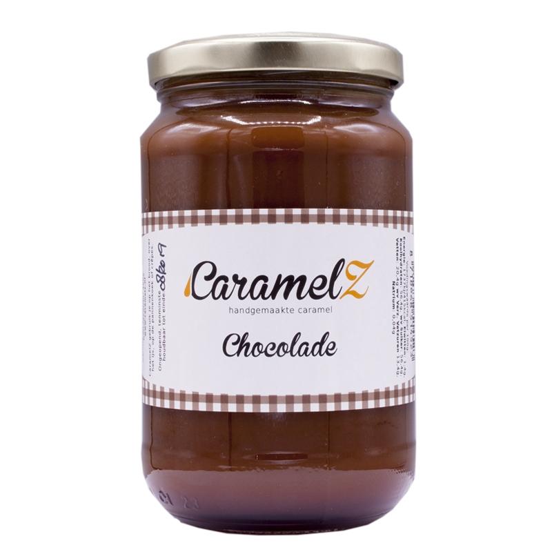 Afbeelding van Caramel Chocolade 400 gram