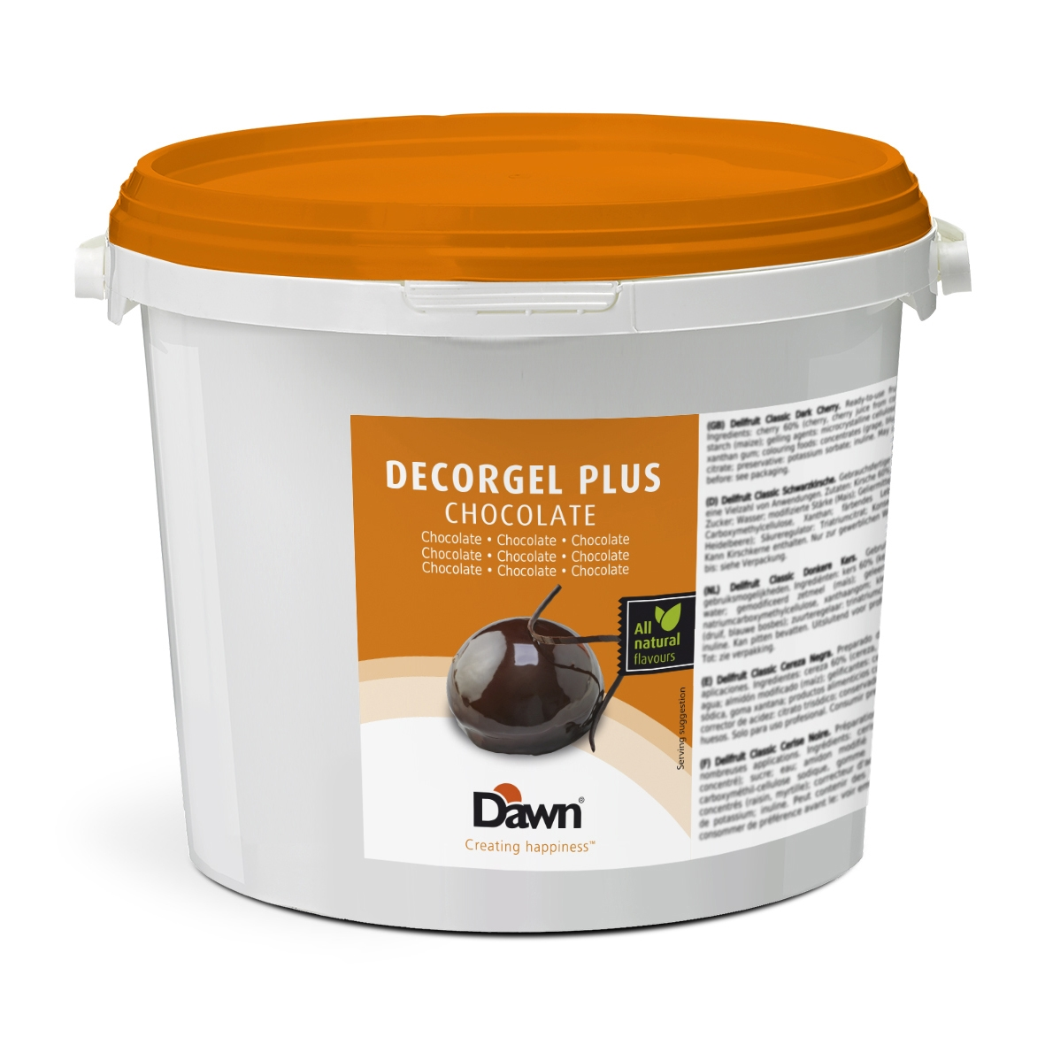 Afbeelding van Dawn Afdekgelei Decorgel Glaze Chocolade 3kg